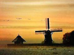 'Winterabend in Ostfriesland' von Dirk h. Wendt bei artflakes.com als Poster oder Kunstdruck $18.03