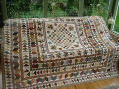 Antieke quilt Dutch Blog