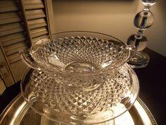 VINTAGE GLASSWARE Set of Six Sherbet Bowls by VintageCreativeAccen, $28.00