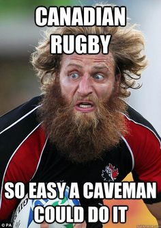 I'm so excited to be starting a new adventure here in Moose Jaw by joining #rugby! #sport #meme #Canada