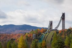 The Olympic Ski Jump complex at Lake Placid | 22 Overwhelmingly Beautiful Photos Of The Adirondacks