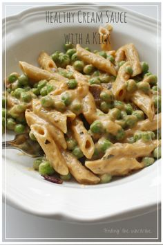 Healthy Cream Sauce with a Kick