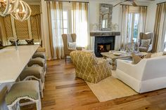 Weatherly Living Room & Kitchen | Model Home