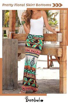 8a6e2bab01e1 77 Best Beautiful skirts images in 2019 | Beach skirt, Long maxi ...