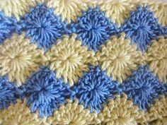 Двухцветный узор Two color pattern Crochet - YouTube