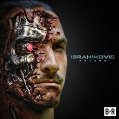 Zlatan disse que ia voltar Ibrahimovic Wallpapers, Lewandowski, Ac Milan, Cool Posters, Dream Guy, Psg, Soccer Players, Fc Barcelona, Manchester United