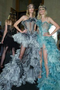Bohemian Beauties at Atelier Versace: Kendall Jenner, Karlie Kloss, Joan Smalls + More