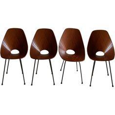 "1stdibs | Vittorio Nobili ""Medea"" Chairs"