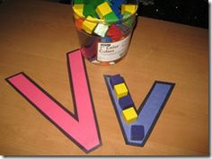 easy way to help intro letter shapes