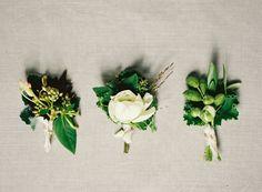 Simple Outdoor Botanical Wedding Inspiration via oncewed.com