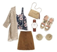 Coco hdy❌by dindarmdhi on Polyvore featuring polyvore, fashion, style, Aéropostale, Max&Co., Mar y Sol, Daniel Wellington, Dolce&Gabbana and clothing