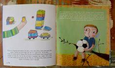 Essa é uma das ilustrações que fiz para a Revista Peteca número 19, da Editora Magia de Ler.