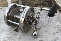 i have for sale some collectible fishing items fishing reels: fishing reel in second & third photo - $25.00 two fish scales - $10.00 each please call or text 306-222-7870 to inquire please check out my other ads.