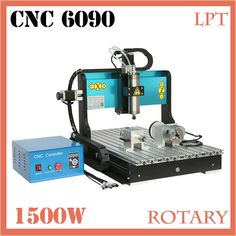 JFTcnc6090 1500W 4 Axis Drilling Machines for Stone Hot Sale Water Cooling Engraving Machines with Parallel Port  #Affiliate