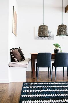 Style from floor to ceiling, inspiring decor projects and an urban feel. Image Credit: Amelia Fullerton http://www.queenslandhomes.com.au/blog/?s=design+decor