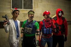 Mario Warfare group by SquallWolfheart.deviantart.com on @DeviantArt