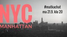 #matkachat-kooste! Lue Twitterissä jaetut vinkit New Yorkista! #matkailu