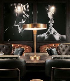 Montecristo cigar bar is las vegas' newest, offering Cigar Lounge Decor, Bar Lounge, Office Lounge, Whiskey Lounge, Whiskey Room, Cigar Room, Cigar Bar, Lounge Design, Boho Chic Living Room