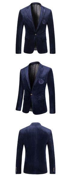 Hombres Chaquetas de Traje de Terciopelo de Oro Masculina Vestidos Casuales de Alta Calidad Diseñadores de La Marca de Moda Slim Fit Negocios Vestido Chaqueta M 3XL E213 en Blazers de Ropa y Accesorios en AliExpress.com   Alibaba Group