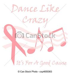 Free Printable Breast Cancer Posters   Illustration - pink ribbon cause - stock illustration, royalty free ...
