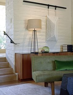 Timber & white brick | Portola Valley House by Charles DeLisle
