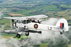 Royal Navy Historic Flight Fairey Swordfish torpedo bomber/reconnaissance aircraft in flight (library image) [Picture: Leading Airman (Photographer) Abbie Herron, Crown copyright]