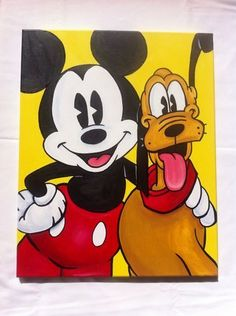 easy disney acrylic paintings - Google Search