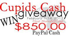 BLOG GIVEAWAY FOR VALENTINE'S DAY!