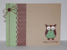 Simple cute owl