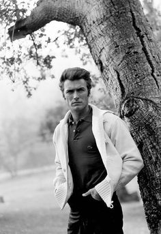 """""""Clint Eastwood photographed by Gabi Rona, 1959. """""""