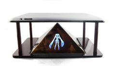 3D холограмен проектор за телефон