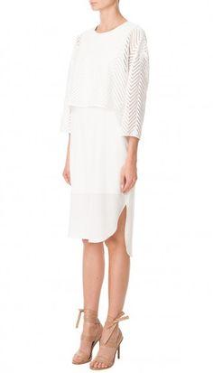 Blanca Lace Layered Dress
