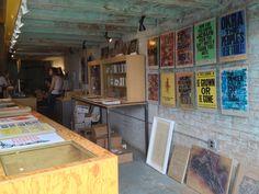AFAR.com Highlight: Letterpress Workshop and Gallery in Eastern Market by Kirsten Alana