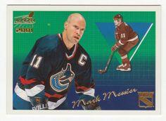 Mark Messier # 96 - 2000-01 Pacific Aurora Hockey Vancouver Canucks, New York Rangers, Nhl, Hockey Cards, Baseball Cards, Mark Messier, Trading Cards, Aurora, Sports