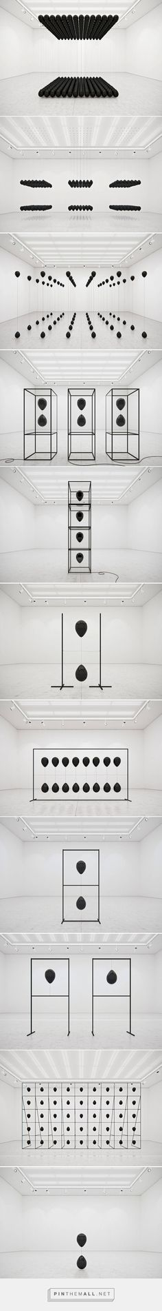 Black Balloons Art Installation – Fubiz Media - created via https://pinthemall.net