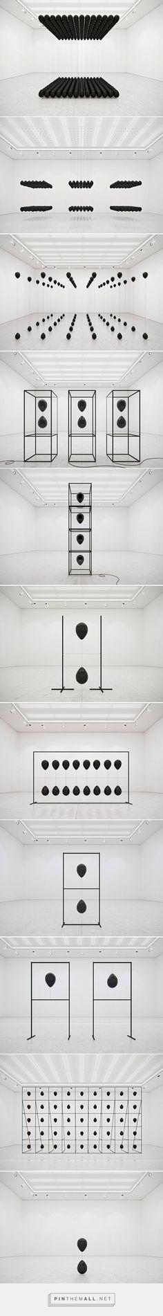 Black Balloons Art Installation – Fubiz Media - created via https://pinthemall.net