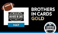 Brothers in Cards Football - May GOLD - Pack Plus Program