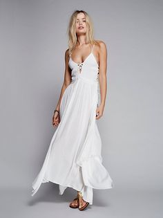 Frida Aasen || FP ENDLESS SUMMER Coconuts All Day Beachy Maxi (Ivory)