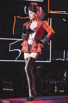Kinky Boots on Broadway: Charlie Sutton in one of many incredible costumes.