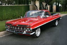 1959 CHEVROLET EL CAMINO. great color combo SealingsAndExpungements.com 888-9-EXPUNGE (888-939-7864) 24/7 Free evaluations/Low money down/Easy payments. Sealing past mistakes. Opening new opportunities.