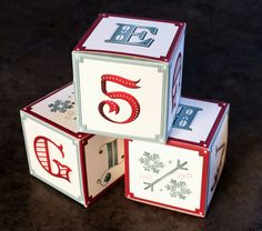 Creative Suitcase Holiday Mailer