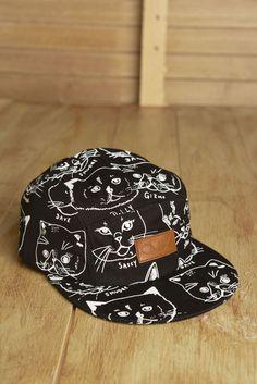 Cat Hat 5 Panel