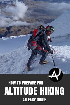 Do you want to do some high altitude hiking and don't know how to prepare yourself for it? Check out these tips on how to train for high altitude hiking.