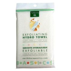 3/15 - Earth Therapeutics Hydro Exfoliating Towel, 1 each (Pack of 2)