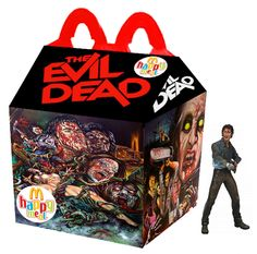 Da Evil Dead a Nightmare - 25 Happy Meal McDonald da film horror Horror Movie Characters, Best Horror Movies, Cult Movies, Scary Movies, Ghost Movies, Natural Born Killers, Kill Bill, Michael Myers, Blade Runner