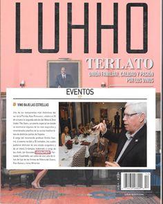 Revista de moda menciona mi trabajo en kebo restaurant