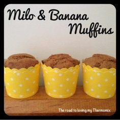 """It was time to stock the freezer with muffins today for my sons lunchbox. This is my """"shove it all in and blitz"""" recipe. I have added flaxseed meal to this as I have a big bag of it and add it in all my baking lately, however you can leave it. You can also substitute"""