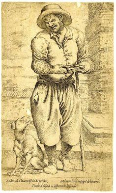 Un cieco... 16° o 17° secolo?