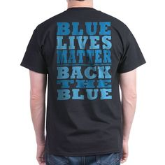 Blue Lives Matter Favorite Tee #BlueLivesMatter #BackTheBlue #SupportLawEnforcement shirts mugs aprons pjs pillows thermos products - for all this design click here - http://www.cafepress.com/dd/105929216