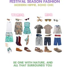 """Festival Season Fashion - Modern Hippie, Boho Chic"""